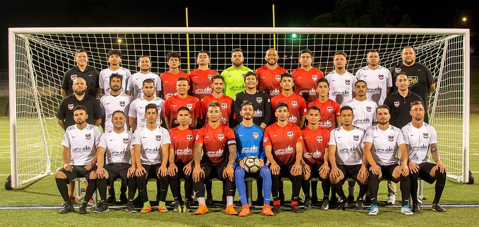 Inocentes FC 2018 Squad (Source: Inocentesfc.com)