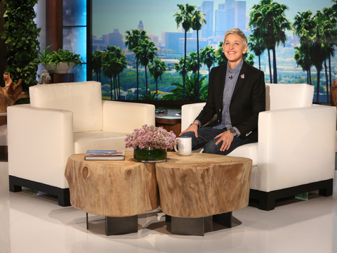 """Thank you, thank you, Ellen. Yes, it's great to be here- """
