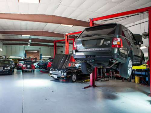 Land Rover Service/Repairs — J and G Automotive