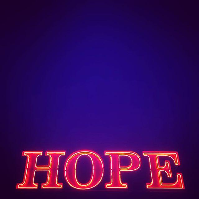 #bluemonday #night #bar #london #peckham #neon #red #blue #hope