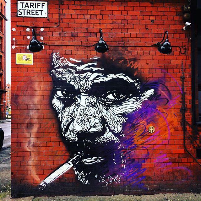 #c215 #streetart #manchester #wall #tarifstreet #uk🇬🇧