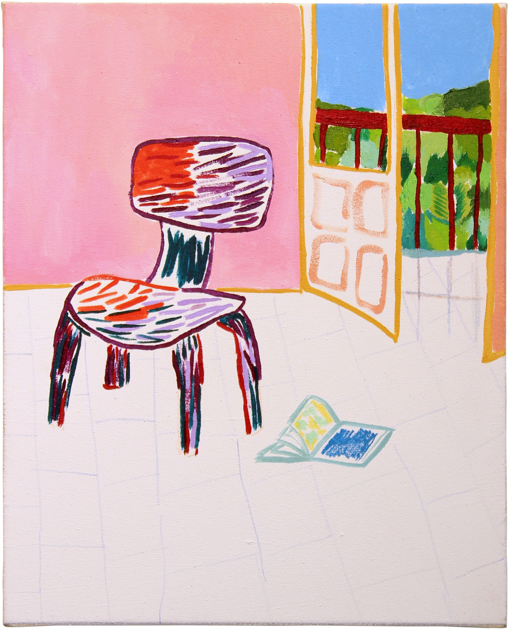 Chair Study  2016  Oil on Canvas  20x16 inches
