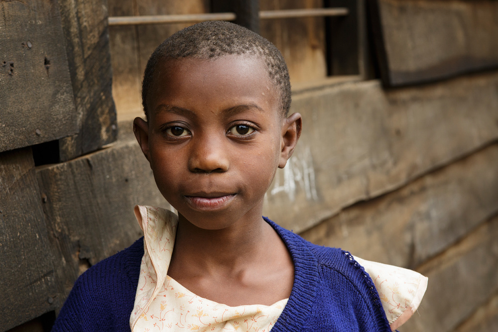 Local girl in Kibosho-Umbwe.