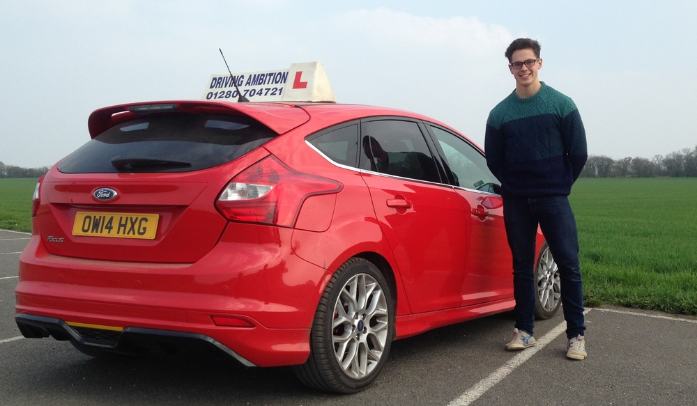 Harry Moir (16) off road lesson 8th April 2015 with Mark Prewett. Well done!