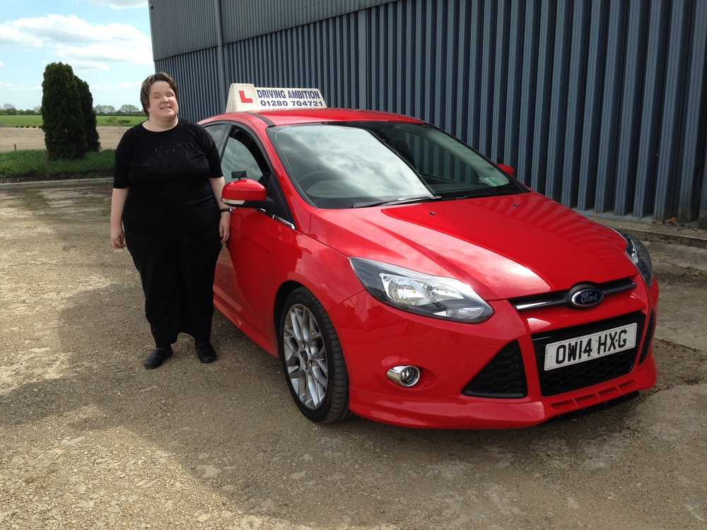 Sarah Mellor 1st drive off road 13th May 2015. Well done!