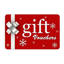 Click here to order gift vouchers sent to you by email straight away (valid for 1 year)