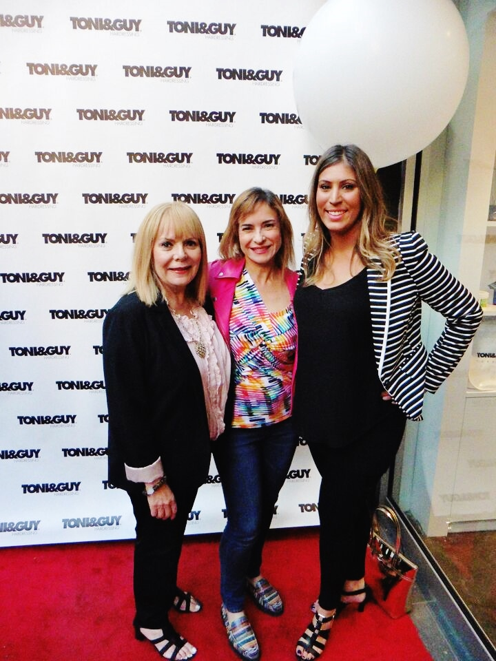 MY MOTHER,   BETTY COLT   (Left) IS A LONG-TIME CLIENT OF TONI & GUY AND HER HAIR ALWAYS LOOKS STYLISH.