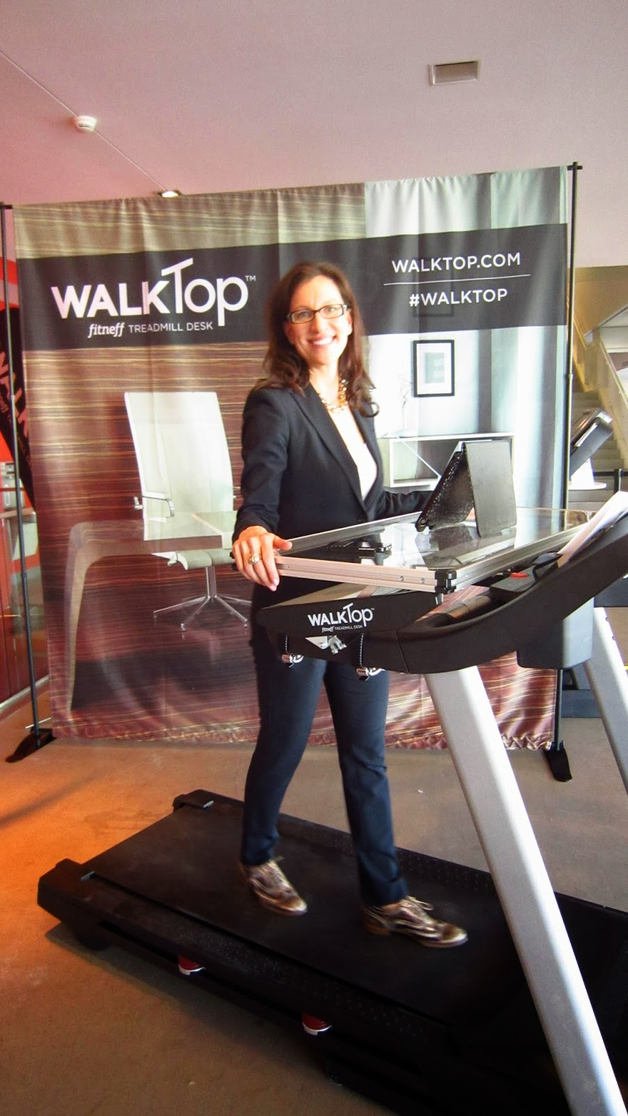 WalkTop co-founder Laurel Walzak