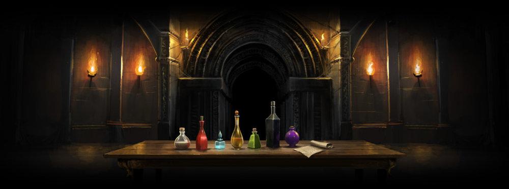 Potions Tournament courtesy of Pottermore.com