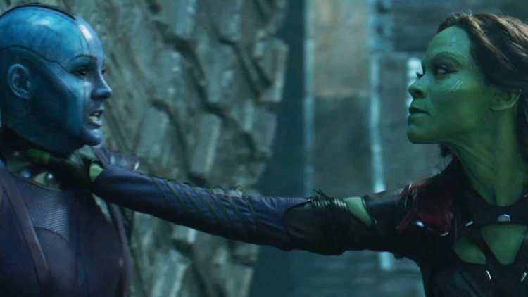 Gamora saves Nebula - and sacrifices humanity