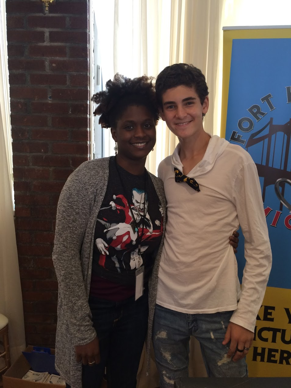 Gotham David Mazouz With PPI Batman Bow Tie