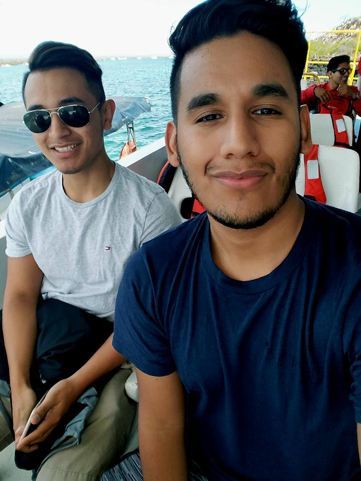 Taking the $2.00 Ferry ride from Baltra to Santa Cruz (make sure to carry cash). P.S it must be something in the air but Ecuador has done wonders to my skin! Covergirl material??