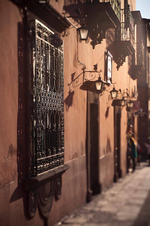 Calle en San Miguel de Allende Guanajuato, Mexico