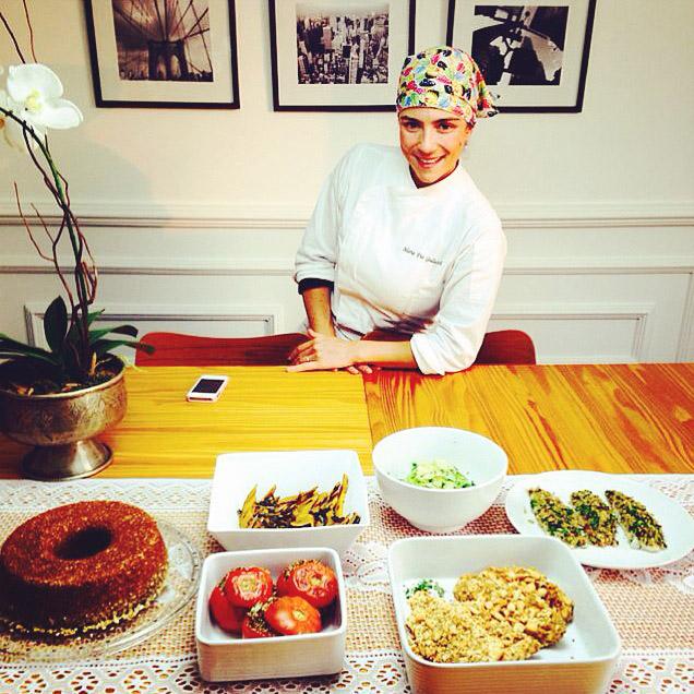 Maria Pia Gallucci - Nutricionista e Chefe de Cozinha.