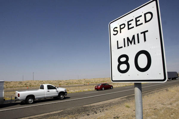 House supports expanding 80 mph speed limits on freeways