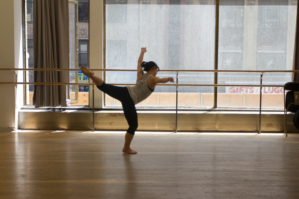 """I love practicing alone, before anyone else has awoken, when it's just me and the possibility of an empty dance floor,"" she said. ""I can't imagine life without movement."""