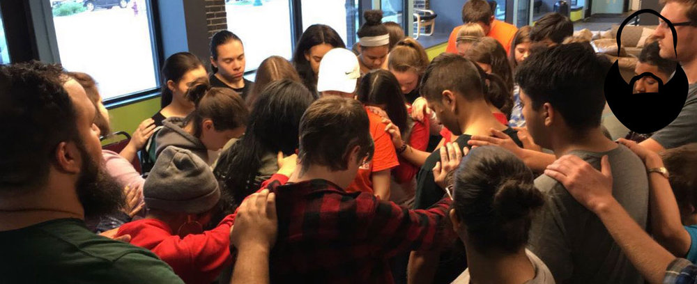 Seniors Praying