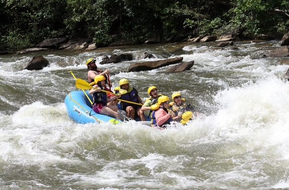 Whitewater Rafting - Ocoee River (2013)