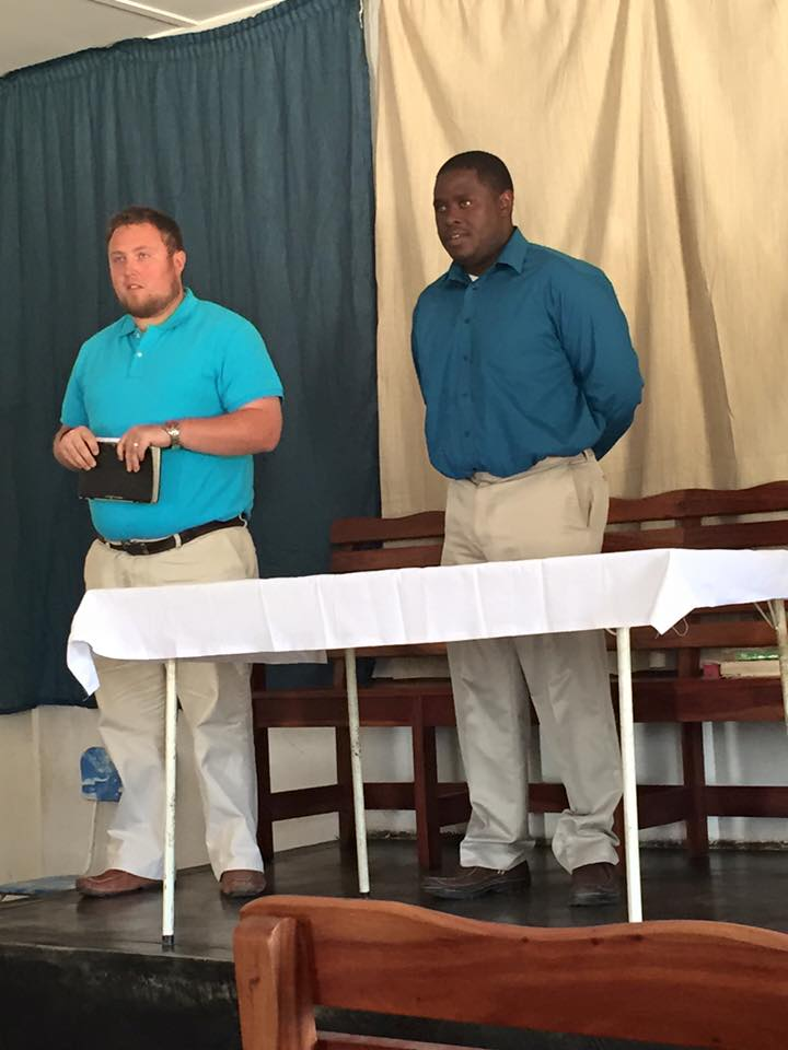 Preaching in Zimbabwe, Africa - July 2015