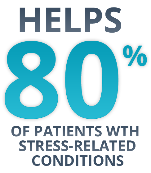 of patients with stress related conditions