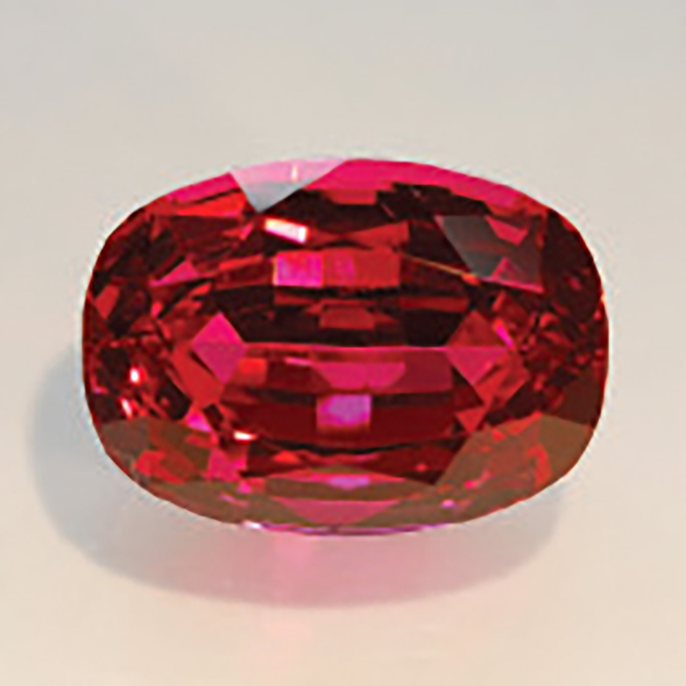 1st Place 2009 Cutting Edge Award, Open Division  11ct Tanzanian Red Spinel