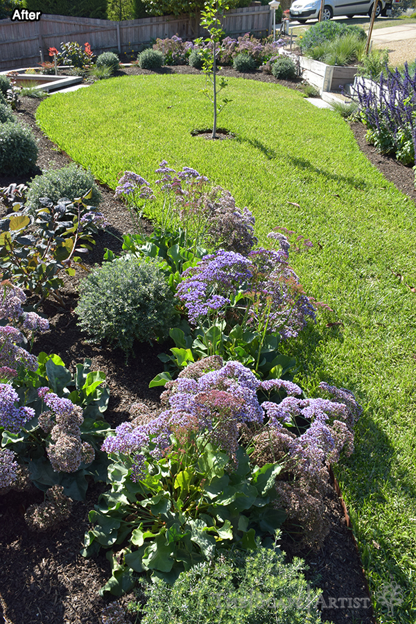 Flowers & lawn in Ballarat