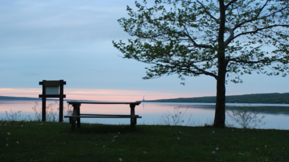 Finger Lake Sunset