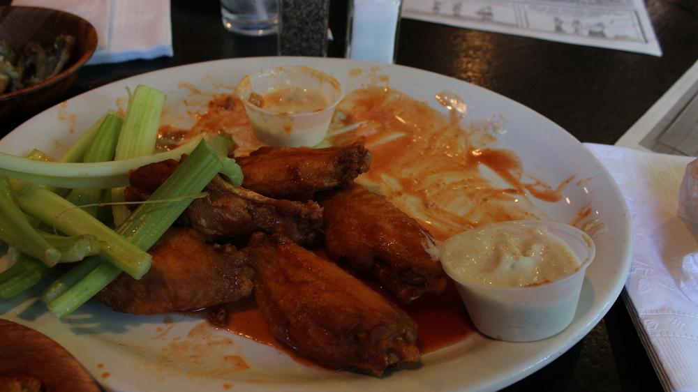Buffalo wings in Buffalo, NY