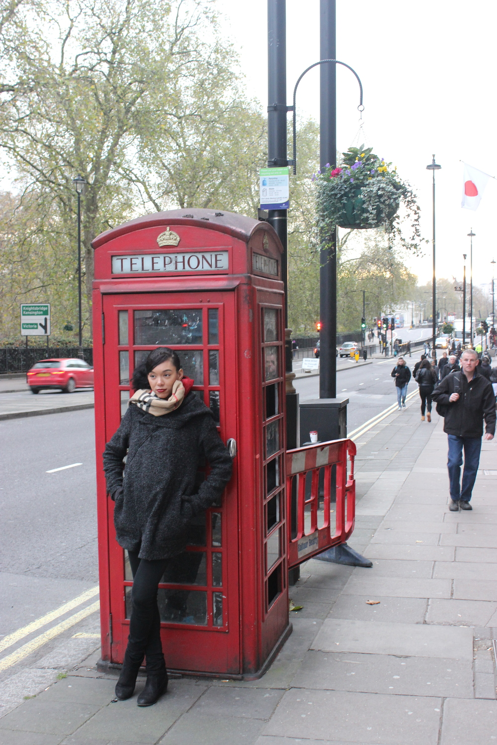 Bre in Booth - London, England