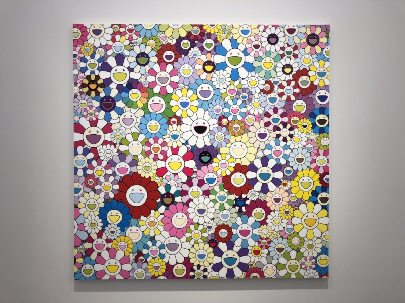 *Art by Takashi Murakami*