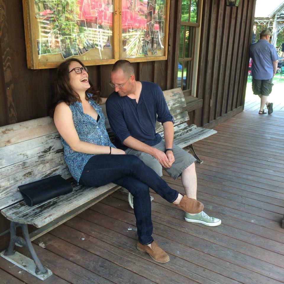 This photo should explain our humor. Photo taken by Rachel's loving husband Jonathann.