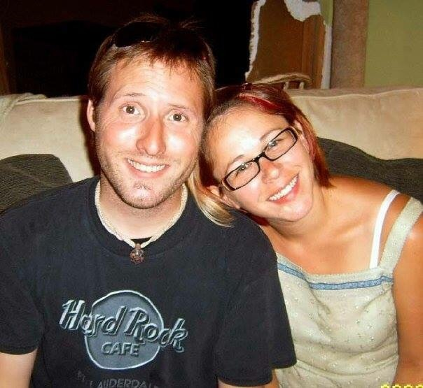 This was about ten months after we started dating.   Wow, were young!