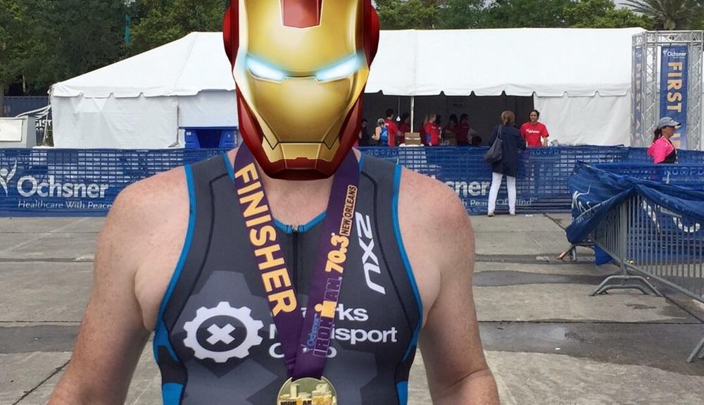 That's an Ironman medal!