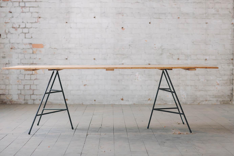 Arkade trestle table arkade better furniture for hire