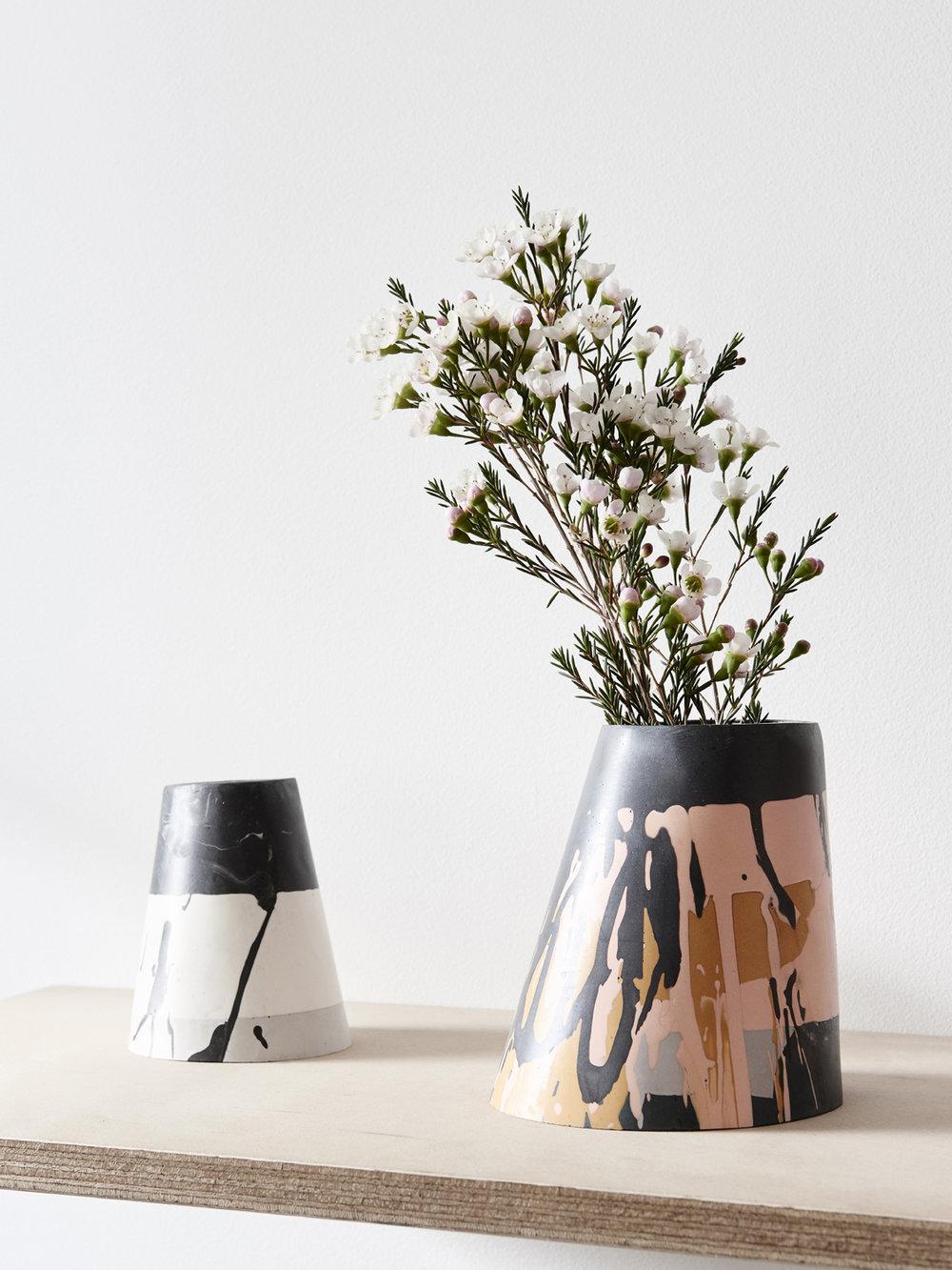 Eco Resin Vase