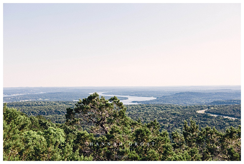 texas hill country lake travis view photoshoot