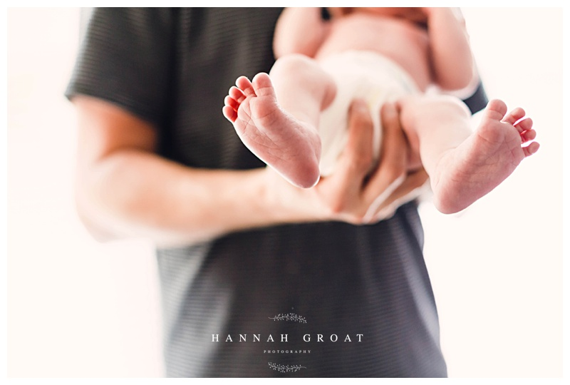 lifestyle newborn session home photography