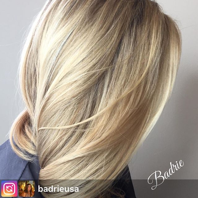 #Repost from @badrieusa. Healthy hair on our client Diane. . . .  #salonetoiles #certifiedhaircolorists  #longhair #blonde #olaplex  #celebrityhairstylist  #blondehair #hair #hairstyles  #hairstylist  #hairinspo  #washingtondc #viennava #modernsalon #americansalon #instahair #behindthechair #mastercolorist #hairofinstagram #wella #wellaprofessionals #marylandhairstylist  #virginiahairstylist #coloredhair #wellalife #healthyhair