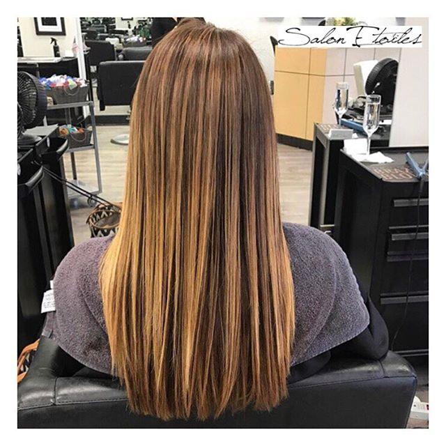 Hair by @nasim.etoiel . . .  #salonetoiles #americansalon #behindthechair #coiffeur #certifiedhaircolorists #instahair #virginiahairstylist #marylandhairstylist #longhair #straighthair #brunette #highlights #haircolor #hairstyles #hairstylist #washingtondc #viennava #healthyhair #modernsalon #renefurturer #renefurturerusa #shinnyhair #straighthair #btc #haircut