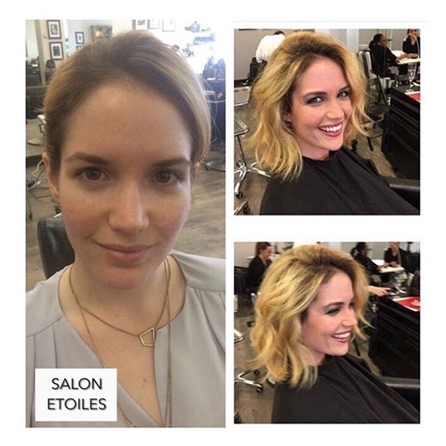 Beautiful #makeup look done by @nasim.etoiel on this natural beauty . . .  #salonetoiles #makeup #beforeandafter #mua #makeupartist #virginiahairsalon #viennava #makeupgoals #makeuplook #blonde #beauty #naturalbeauty #glamlook #glowingskin #beautifulmakeup #eveninglook #flawlessskin #instamakeup #instamua #virginia #maryland #washingtondc #makeuplove