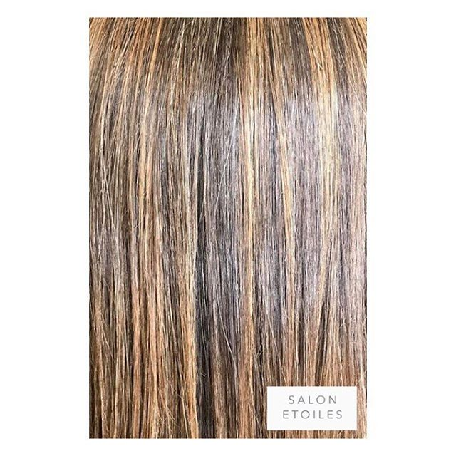 Subtle #highlights on this healthy head of hair followed by a #brazillianblowout. Hair by @nasim.etoiel . . .  #salonetoiles #americansalon #behindthechair #coiffeur #certifiedhaircolorists #instahair #virginiahairstylist #marylandhairstylist #longhair #straighthair #brunette #haircolor #hairstyles #hairstylist #washingtondc #viennava #healthyhair #modernsalon #renefurturer #renefurturerusa #shinnyhair #straighthair #btc #haircut #summerhair