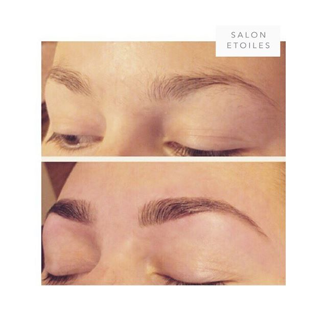 Semi-permanent #eyebrowtinting and shaping. By @nasim.etoiel. . . .  #eyebrow #brows #beauty #flawless #flawlesseyebrows #maryland #marylandsalon #virginia #virginiasalons #washingtondc #viennava #hairsalon #salonetoiles #eyebrowthreading #eyebrowsonfleek #eyebrowshape #eyebrowshaping