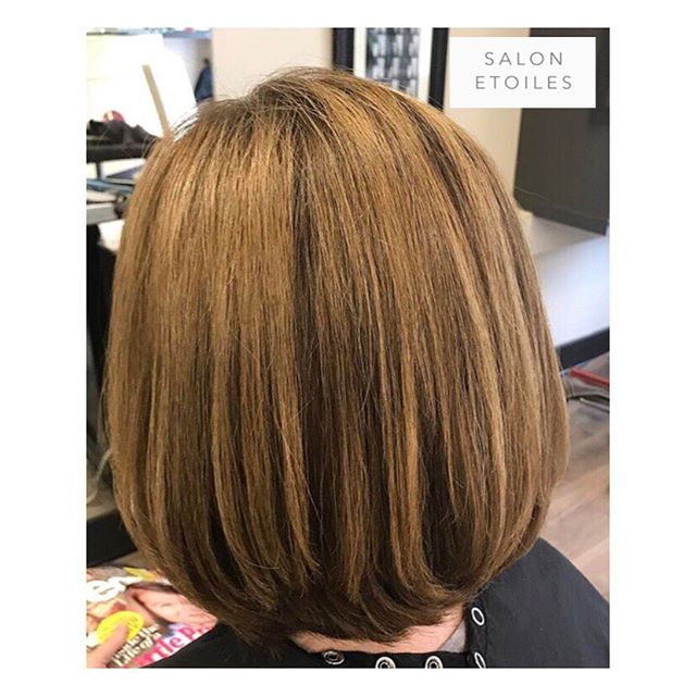 Chic #bobhaircut and #haircolor. Hair by @nasim.etoiel. . . .  #salonetoiles #virginiahairsalon #virginiahairsalon  #behindthechair #modernsalon #americansalon  #brownhair #brunette #staighthair #blowdry #haircut  #brunettehair #hair #celebrityhairstylist #washingtondc #hairstyles #hairstylist #instahair #hairgoals #healthyhair #shinnyhair #shorthair