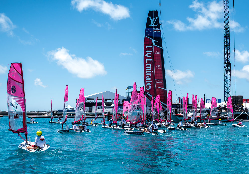 O'Pen BIC at The America's Cup/Bermuda