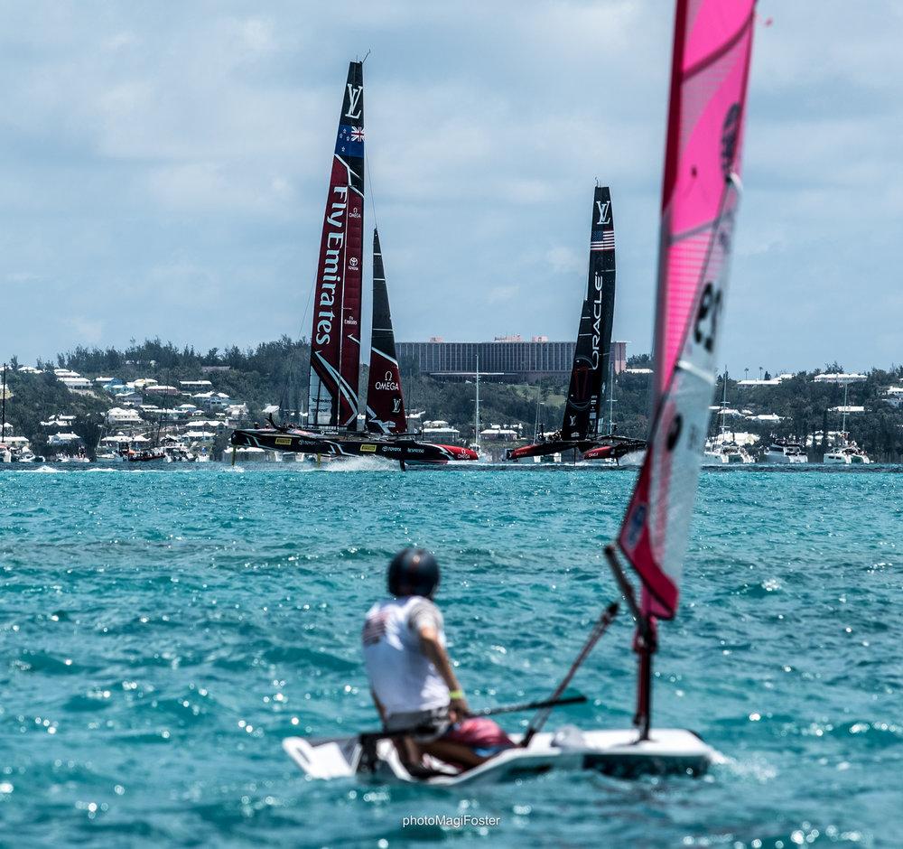 O'Pen BIC_America's Cup_Bermuda
