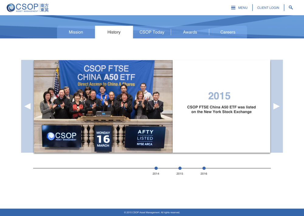 CSOP History Page