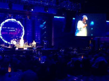"Performer Dorothy Moore wows the crowd at the ""Blues Got A Soul"" Technology Conference sponsored by the Jus Blues Music Foundation on July 31 at the Horseshoe Casino & Hotel in Tunica, Miss."