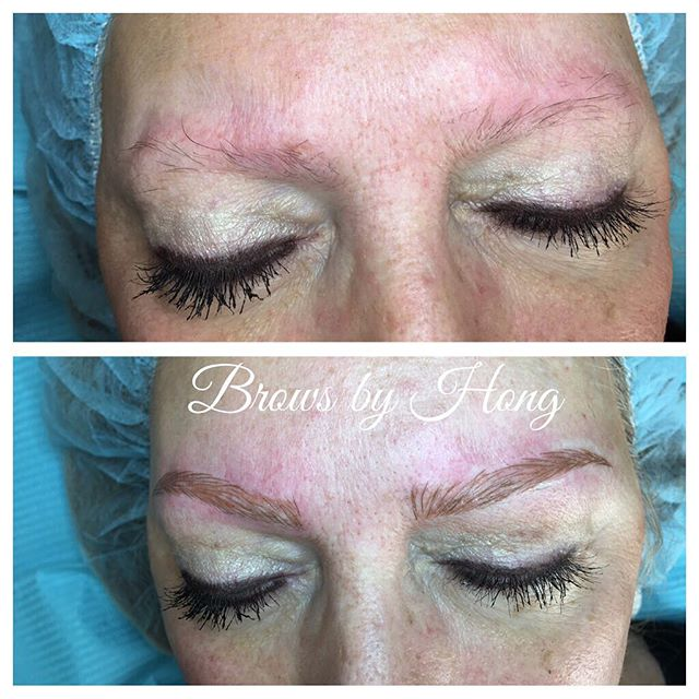 Love this beautiful lady #brows #browshaping #microblading #microbladingeyebrows #browsculpt #eyebrows  #eyebrowtattoo #eyebrowembroidery #tanaz_hair #marchtanaz