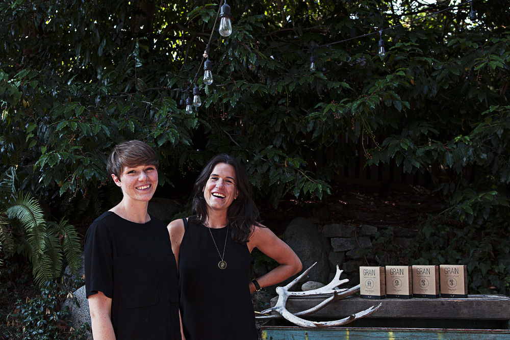 GRAIN founders, Janna Bishop and Shira McDermott