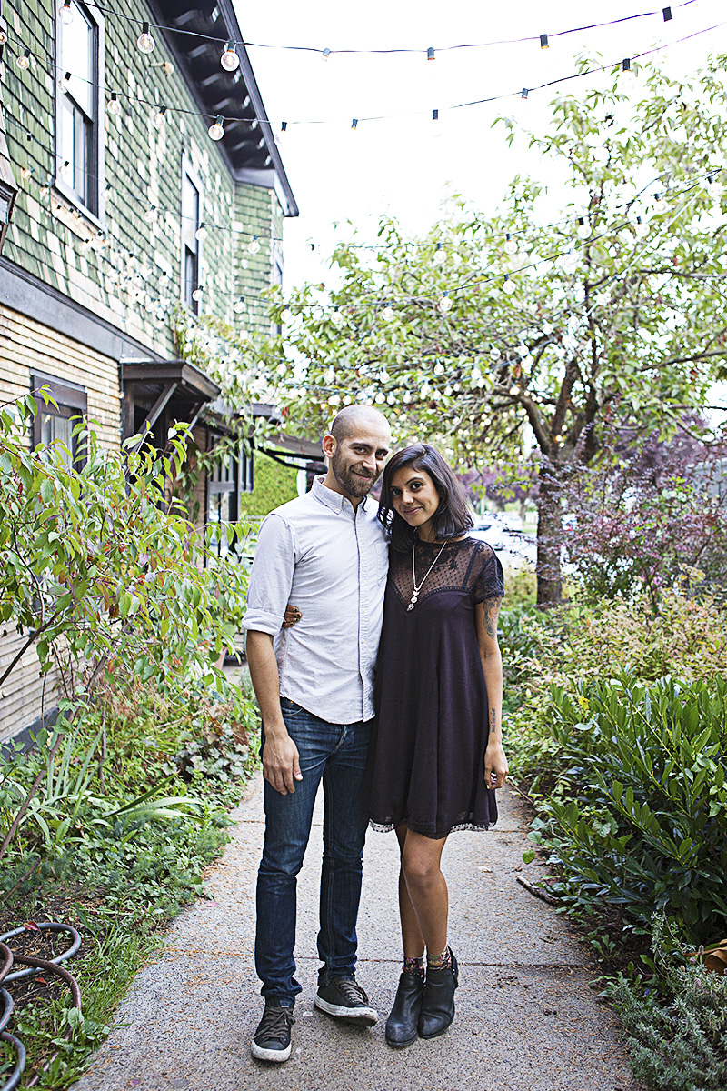 The gorgeous power couple behind Woodlot: Fouad & Sonia.